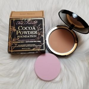 Too Faced Cocoa Power Foundation in Light Medium